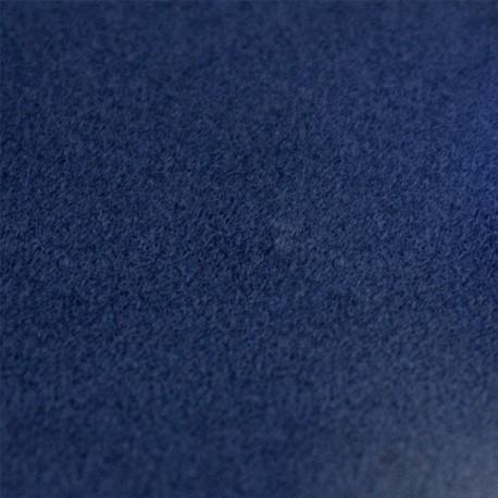 Velvet Fusible fabric - blue x 10 cm
