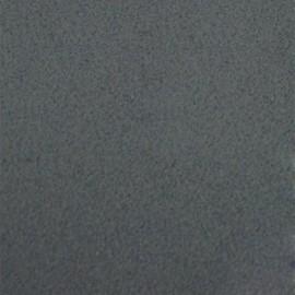 Tissu thermocollant velours - gris foncé x 10 cm