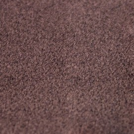 Velvet Fusible fabric - Brown x 10 cm