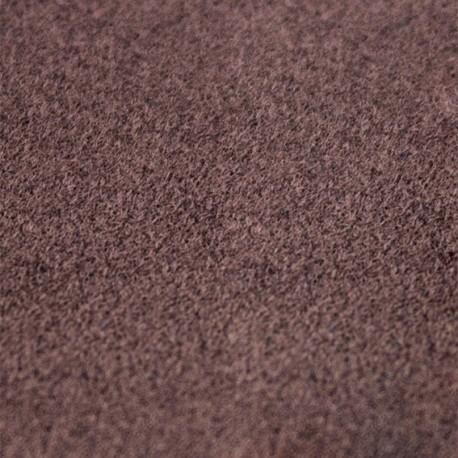 Velvet Fusible fabric - Brown x 10 cm