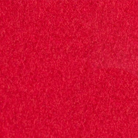 Velvet Fusible fabric - Red x 10 cm