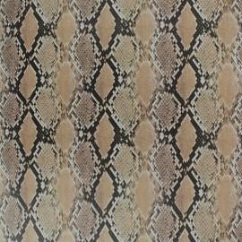 Tissu thermocollant velours - Cobra x10 cm