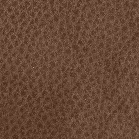 Fusible fabric - brown leather x 10 cm