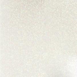 Tissu thermocollant Paillettes - blanc x 10 cm