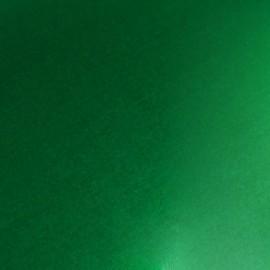 Tissu thermocollant métal - vert x10 cm