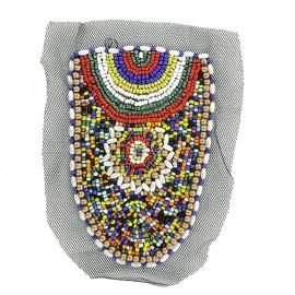 Poche en Perles à coudre - L'Ethnique