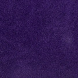 Flex thermocollant velours - Violet x 10 cm