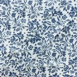 Biais Polycoton Alyza - Bleu x 1m