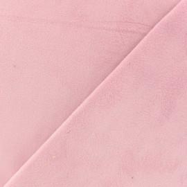 Short double-sided velvet fabric - Old pink Elena x10cm