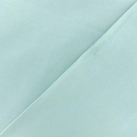 Tissu velours ras double face Elena - mint x10cm