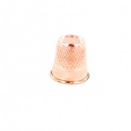 Metal Sewing Thimble - Rose Gold