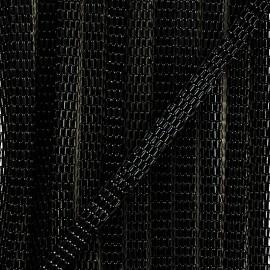 Chainette Multi Maille Alexandra - Noir x 1m
