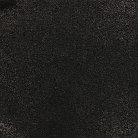 Tissu Jersey Milano pailleté - noir x 10cm