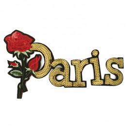 Thermocollant Rose Paris - Doré