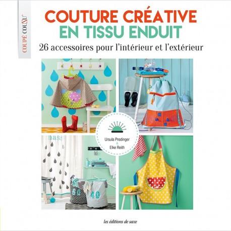 """Livre """"Couture créative en tissu enduit"""""""