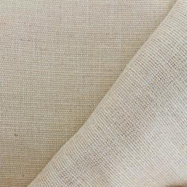 Tissu toile de jute Ménara - naturel x 10cm