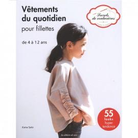 """Livre """"Vêtements du quotidien pour fillettes"""""""