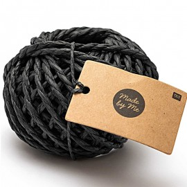 3.5 mm Paper String - Black x 20m