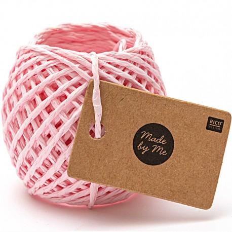 1 mm Paper String - Pink x 20m