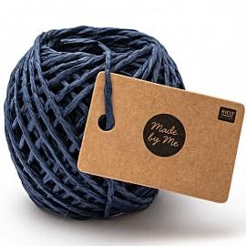 1 mm Paper String - Navy Blue x 20m