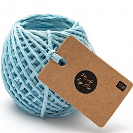 1 mm Paper String - Light Blue x 20m