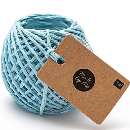 1 mm Paper String - Light Blue x 20m