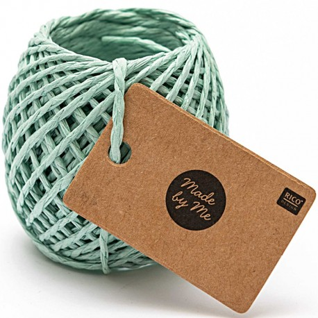 1 mm Paper String - Mint x 20m