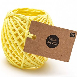 1 mm Paper String - Yellow x 20m