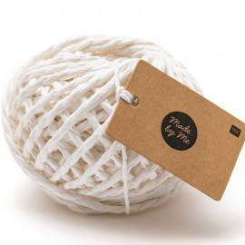 3.5 mm Paper String - White x 20m