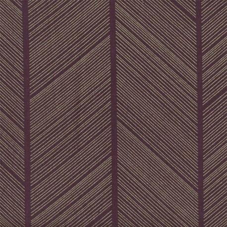 Tissu coton enduit Spike - Bordeaux x 10cm