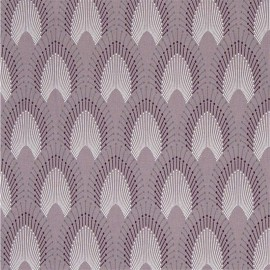 Oilcloth fabric - Misty Rose Chrysler x 10cm