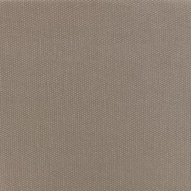 Tissu toile de coton natté réversible - Ficelle x 10cm
