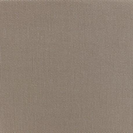 Tissu coton natté réversible - Ficelle x 10cm