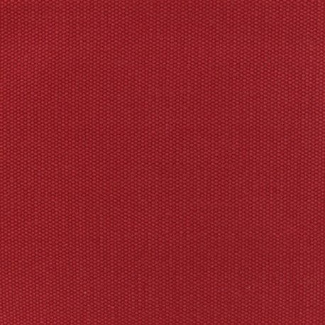 Reversible braided cotton fabric (280 cm) - Passionate red x 10cm