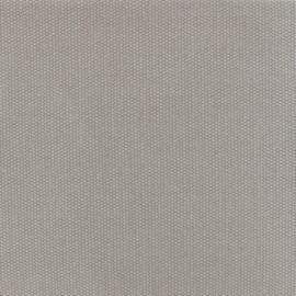 Tissu toile de coton natté réversible - gris souris x 10cm