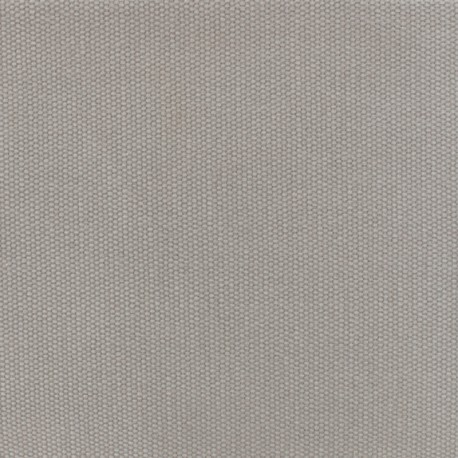 Reversible braided cotton fabric (280 cm) - Medium grey x 10cm