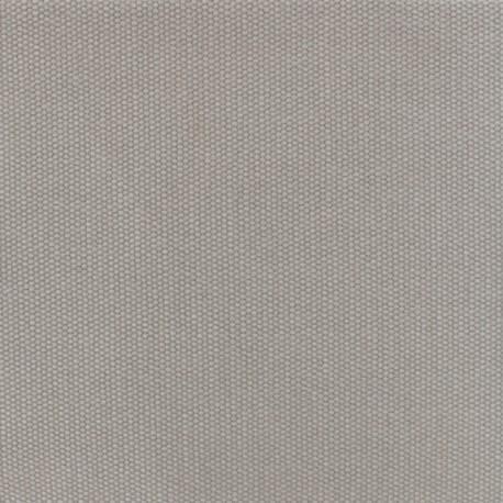 Toile de coton natté réversible - gris souris x 10cm