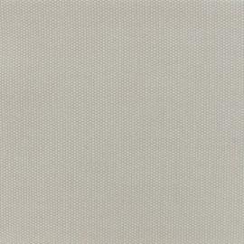 Tissu toile de coton natté réversible - gris perle x 10cm