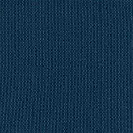 Tissu coton natté réversible - bleu x 10cm