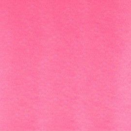 Glitter Fusible fabric - Rose fluo x 10 cm