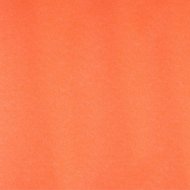 Tissu thermocollant Paillettes - Orange fluo x 10 cm