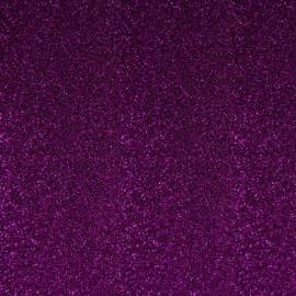 Glitter Fusible fabric - Purple x 10 cm