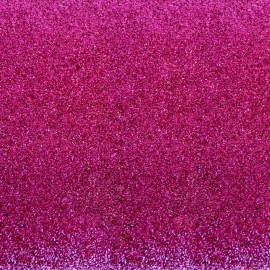 Glitter Fusible fabric - Cherry Pink x 10 cm
