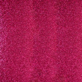 Tissu thermocollant Paillettes - Rose x 10 cm