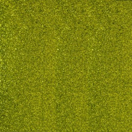 Glitter Fusible fabric - Lime green x 10 cm