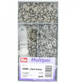 Multipac 200 pièces pressions Jersey - Prym