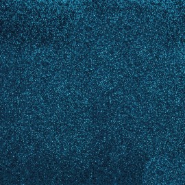 Glitter Fusible fabric - Royal blue x 10 cm