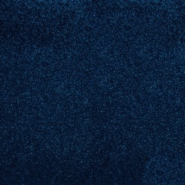 Glitter Fusible fabric - Navy x 10 cm