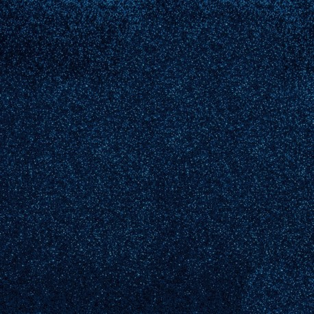 Glitter Fusible fabric - Navy x 10 cm