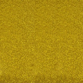 Glitter Fusible fabric - Gold x 10 cm